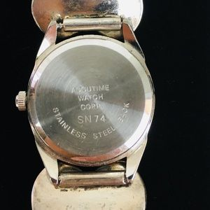 accutime Accessories - VTG Native American Sterling Turquoise Watch